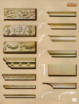 Cornice Mouldings / Friezes  by ©Espitia Mouldings