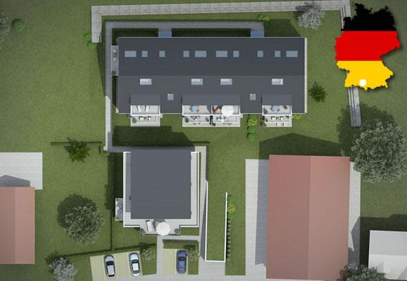 Grundstück mit Baugenehmigung in Hergensweiler, Deutschland - Kaufpreis: EUR 2,2 Mio.