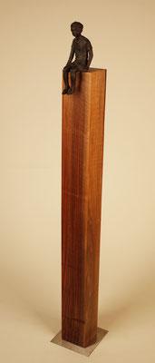 Nussbaum 11x11cm 110cm hoch