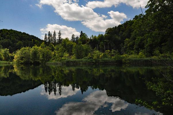 Plitvice - Seenlandschaft Fotografie auf Acrylglas 23 x 30  170,-