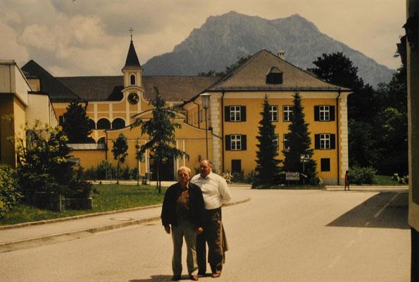 1991: Kinderchor in Altmünster - Begleitpersonen