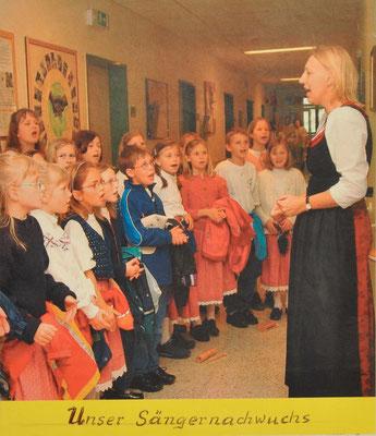 2004: Unser Sängernachwuchs