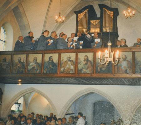 1997: Hochzeit Resi Detzlhofer - Leopold Manhartseder