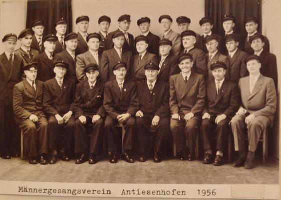 1956: Chorfoto