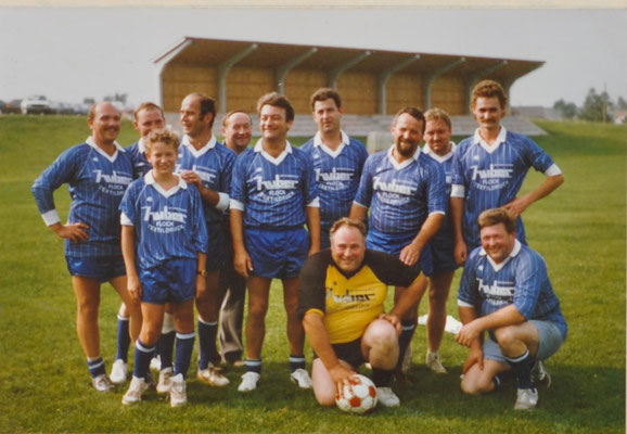 1987: Foto Fußballspiel