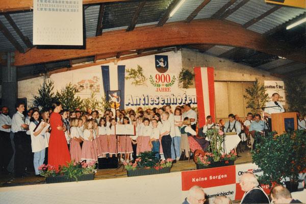 1997: Heimatabend 900 Jahre Antiesenhofen