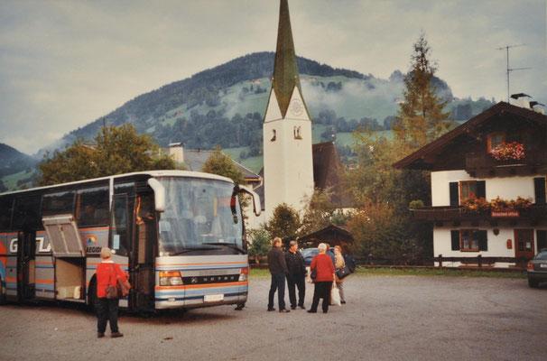 2004: Sängerausflug Wildschönau - Wattens