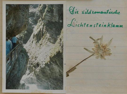 1970: Ausflug ins Dachsteingebiet