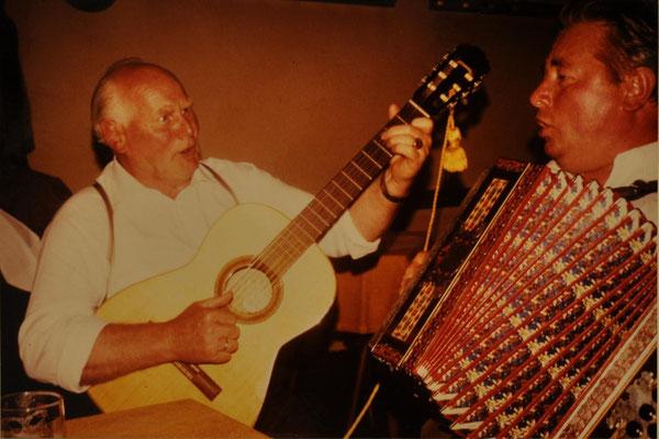 1983: Abends in Kürnach