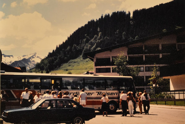 1991: Sängerausflug Mittelberg-Kleinwalsertal