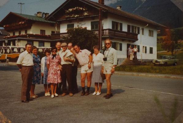 1976: Sängerausflug ins  Zillertal