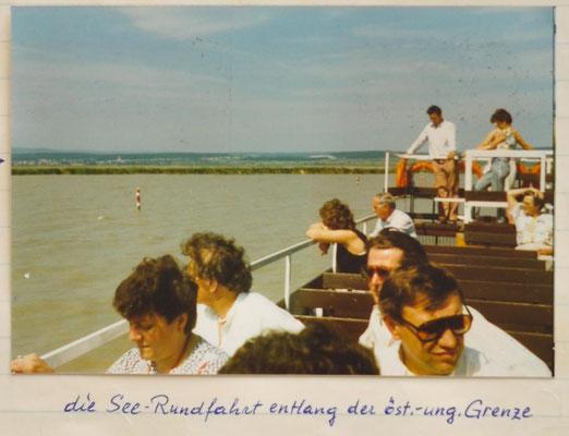 1987: Sängerausflug in den burgenländischen Seewinkel