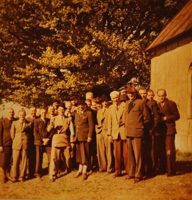 1956: Sängerausflug Kaiserbuche am Haunsberg
