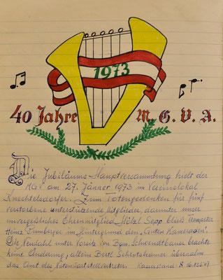 1973: Deckblatt