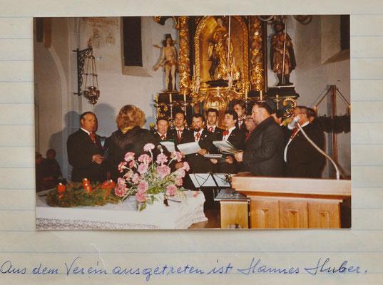 1983: Sylvesterfeier