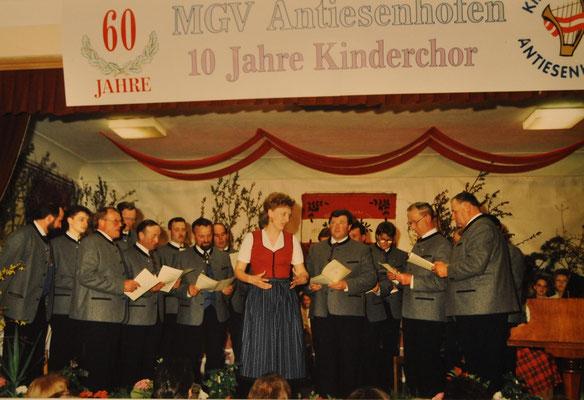 1993: Jubiläumskonzert 60 Jahre