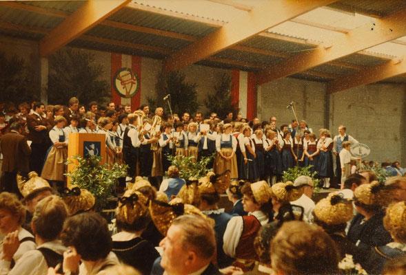 1983 Gründungsgau Sängerfest
