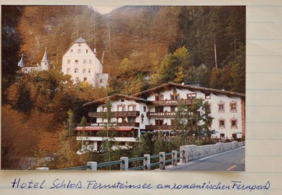1983: Sängerausflug ins Bayern und- Tirolerland