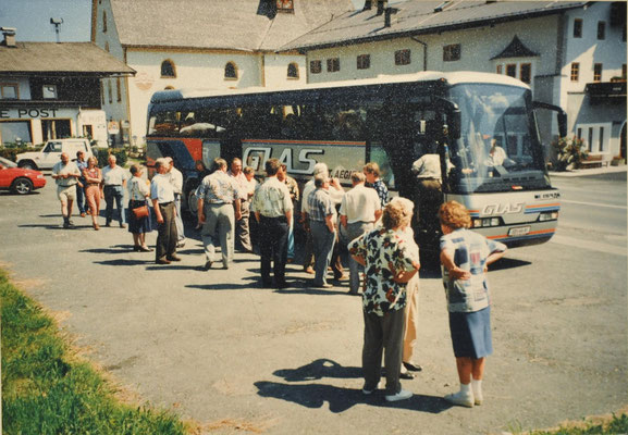 1996: Sängerausflug Osttirol Umbalfälle