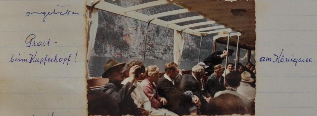 1960: Ausflug am Königssee