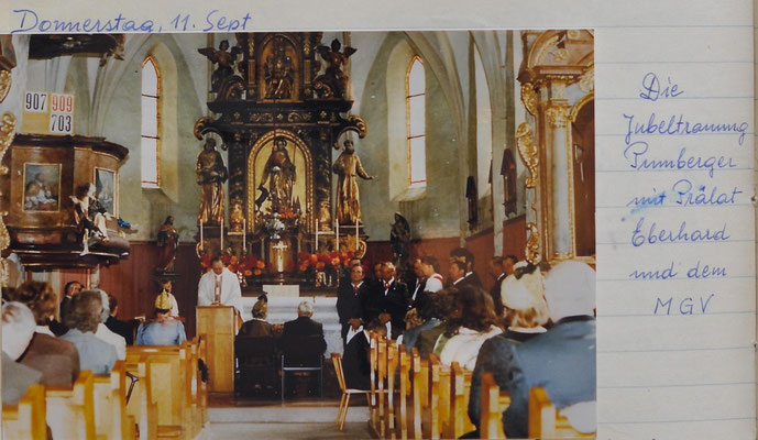 1980: Jubeltrauung