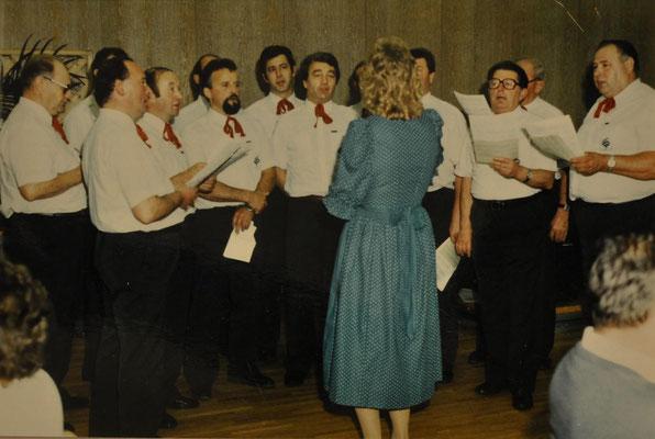1988: Konzert im Blindenzentrum Linz