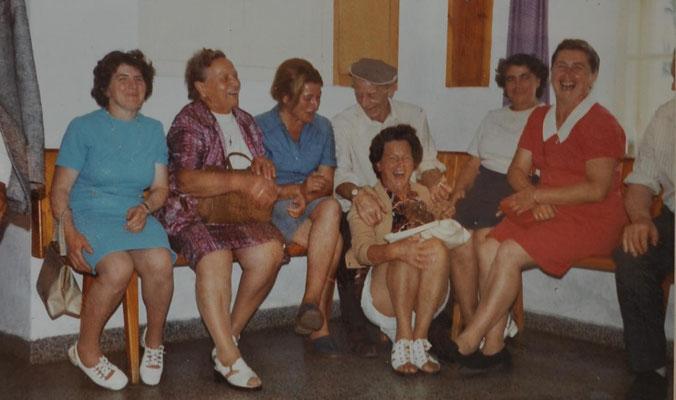 1974: Ausflug in den bayrischen Wald und ins Mühlviertel
