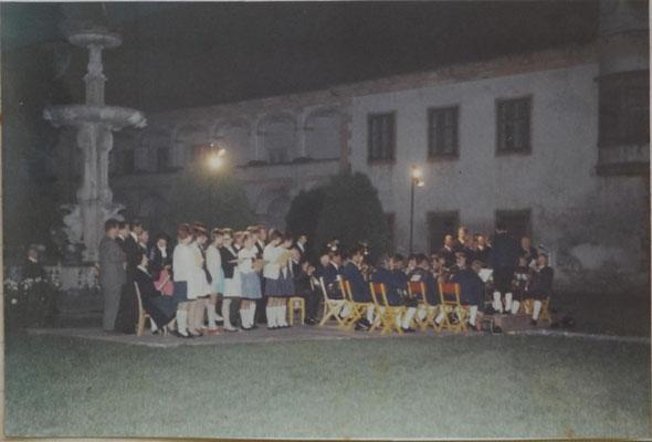 1970:13 Abendkonzert im Stiftshof Reichersberg