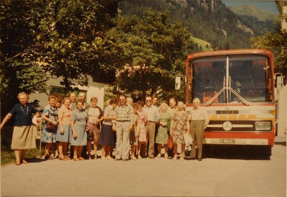 1977: Sängerausflug ins Defereggental