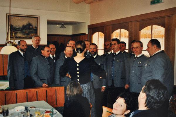 1999: MGV Geburtstagsfeier