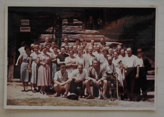 1957: Sängerausflug Zwieselalm