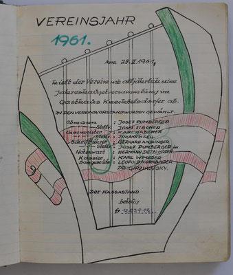 1961: Deckblatt
