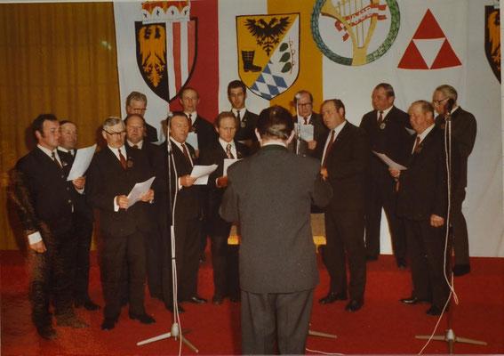 1977: Gausinge des Inngaues