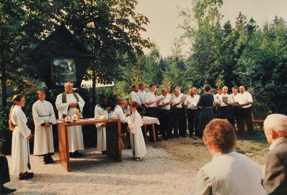 1998: Hubertusmesse