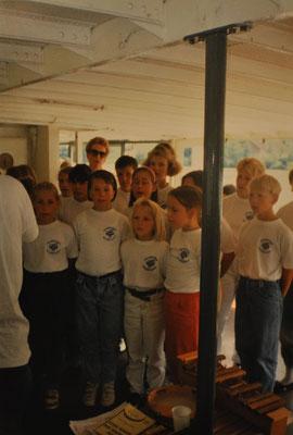 1993: Kinderchor-Ausflug in Passau