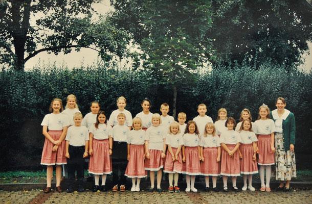 1996: Kinderchor