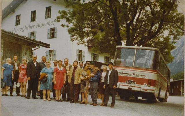1972: Ausflug ins Burgenland