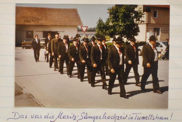 1985: Sängerhochzeit in Tumeltsham