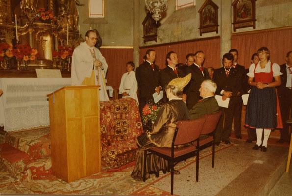1980: Goldene Hochzeit