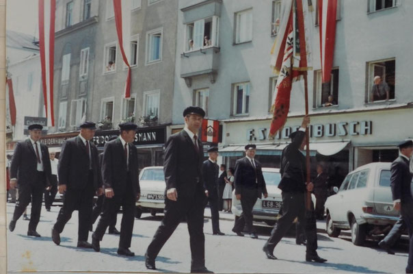 1970: Sängerbundesfest des OÖSSB Ried i.I.