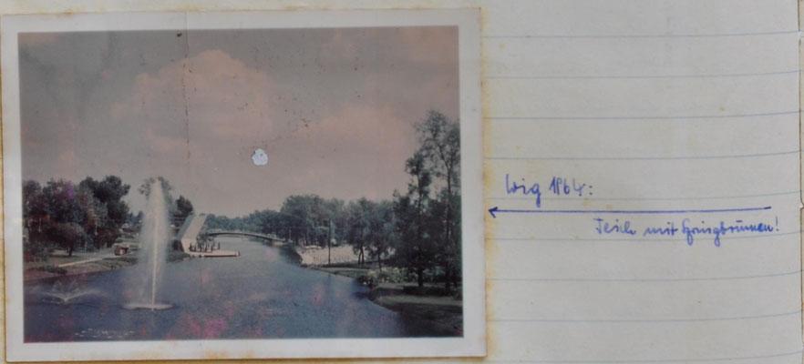 1964:  Fahrt in die Bundeshauptstadt