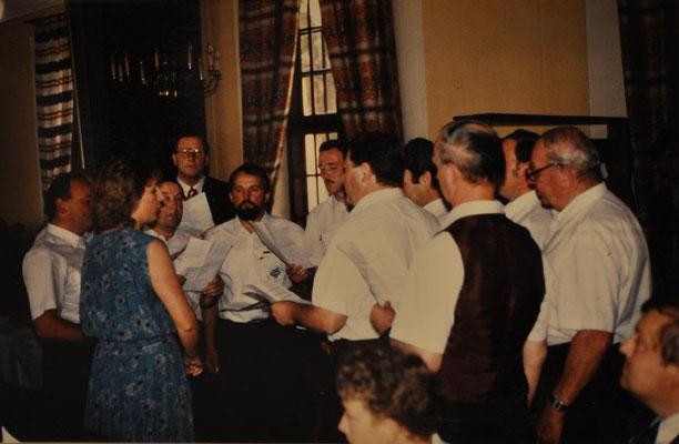 1988: MGV zur Hochzeit