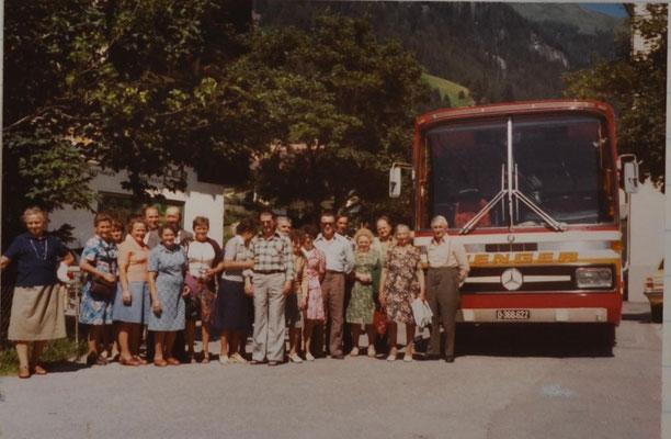 1976: Ausflug ins Zillertal