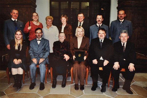 2002: Note in Gold für Christine Baier!