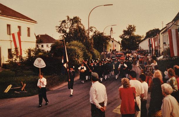 1991: 100-jähriges Jubliäum u. Bezirksmusikfest