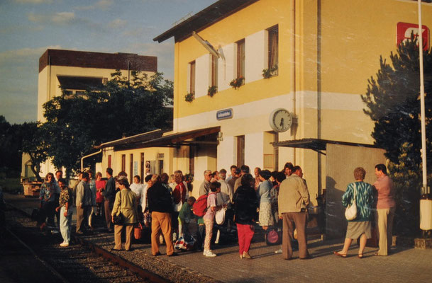 1992: Sängerausflug nach Waidhofen an der Ybbs