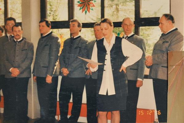 1996: Präsentation der ersten CD