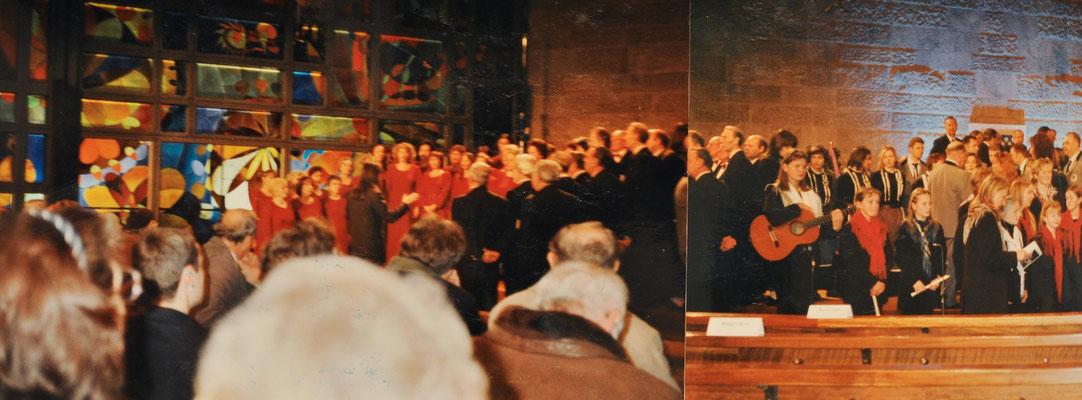 1999: Stefani-Gottestdienst in Münsteuer