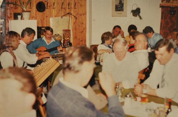 1988: Sängerausflug im Steirischen Salzkammergut