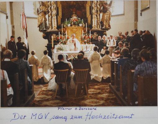 1984: Hochzeit